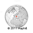 Outline Map of Jelenia Gora I