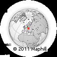 Outline Map of Dolnoslaskie