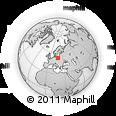 Outline Map of Torun