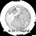 Outline Map of Poddebice