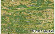 Satellite Panoramic Map of Lubuskie