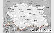 Gray 3D Map of Malopolske