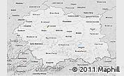 Silver Style 3D Map of Malopolske