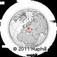Outline Map of Bochnia