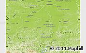 Physical Map of Brzesko