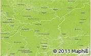 Physical 3D Map of Dabrowa Tarnowska