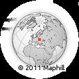 Outline Map of Gorlice