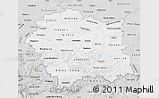 Silver Style Map of Malopolske
