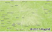 Physical 3D Map of Olkusz