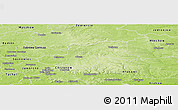 Physical Panoramic Map of Olkusz