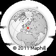 Outline Map of Malopolske