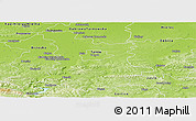 Physical Panoramic Map of Tarnow I