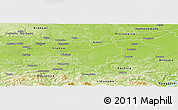 Physical Panoramic Map of Wieliczka
