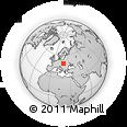 Outline Map of Zakopane