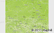 Physical 3D Map of Rzeszow I