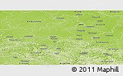 Physical Panoramic Map of Rzeszow I