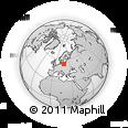 Outline Map of Pomorskie