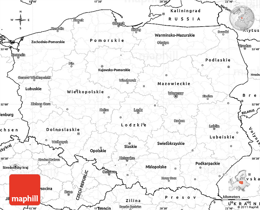 Fan image with regard to printable map of poland