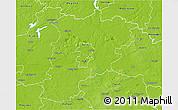 Physical 3D Map of Konin I