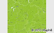 Physical Map of Konin I
