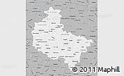 Gray Map of Wielkopolskie