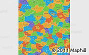 Political Map of Wielkopolskie