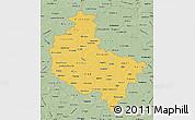 Savanna Style Map of Wielkopolskie