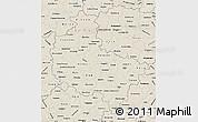 Shaded Relief Map of Wielkopolskie