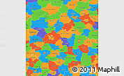 Political Simple Map of Wielkopolskie