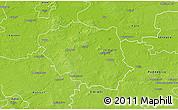 Physical 3D Map of Turek