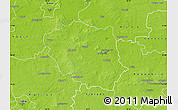Physical Map of Turek