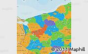 Political Map of Zachodnio-Pomorskie