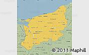 Savanna Style Map of Zachodnio-Pomorskie