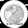 Outline Map of Zachodnio-Pomorskie