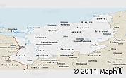 Classic Style Panoramic Map of Zachodnio-Pomorskie
