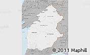 Gray 3D Map of Alentejo