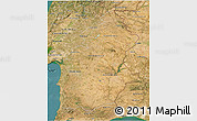 Satellite 3D Map of Alentejo