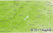 Physical 3D Map of Avis