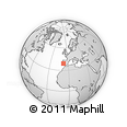 Outline Map of Avis