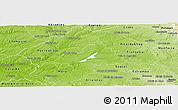 Physical Panoramic Map of Avis