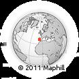Outline Map of Portalegre