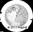 Outline Map of Alentejo