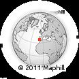 Outline Map of Aljezur