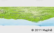 Physical Panoramic Map of Loulé