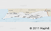 Classic Style Panoramic Map of Algarve