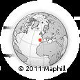 Outline Map of Albergaria-a-Velha
