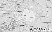 Silver Style 3D Map of Guarda
