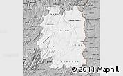 Gray Map of Beira Interior Norte