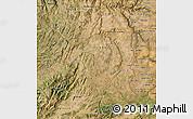 Satellite Map of Beira Interior Norte