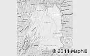 Silver Style Map of Beira Interior Norte
